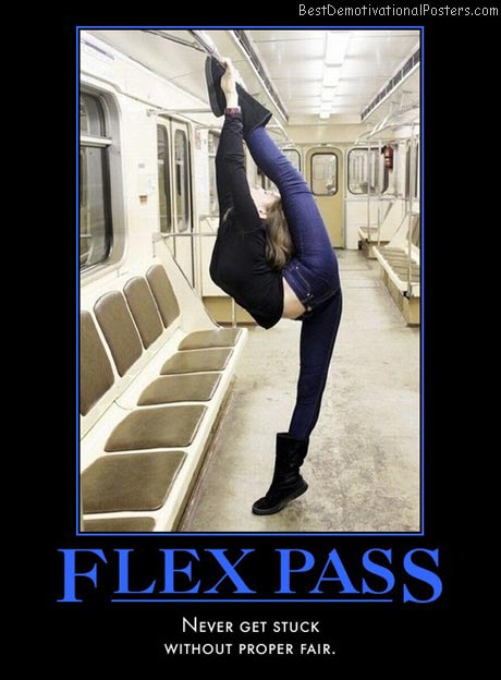 public-transport-has-its-benefits-flex-pass-sexy-stretch-sub-best-demotivational-posters