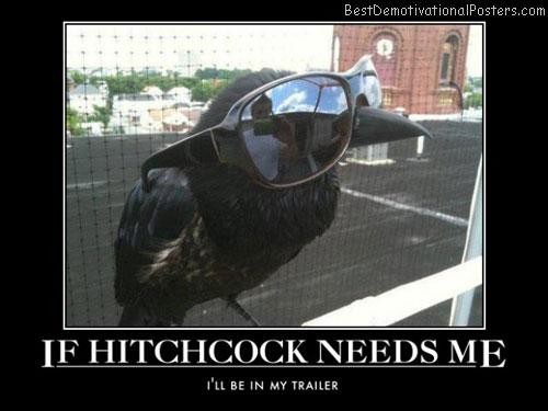 If Hitchcock Needs Me