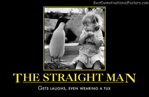 the-straight-man-gets-laughs-penguin-humor-best-demotivational-posters