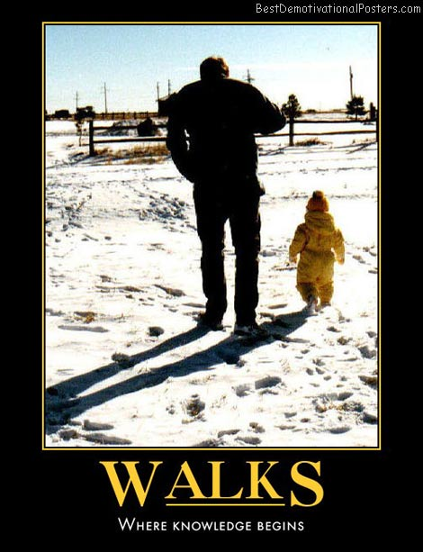 walks-dad-daughter-walk-best-demotivational-posters