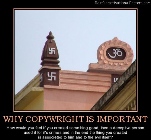 why-copywright-is-important-indian-swastika-is-not-evil-best-demotivational-posters