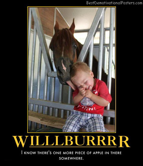 willlburrr-horse-humor-best-demotivational-posters