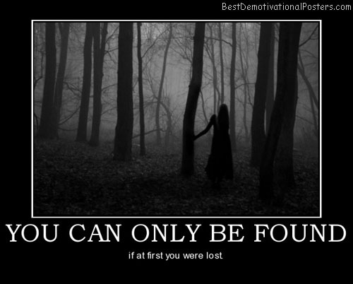 You Can Only Be Found