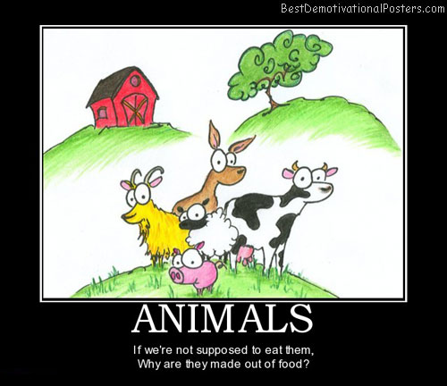 animals-vegetarian-meat-food-best-demotivational-posters
