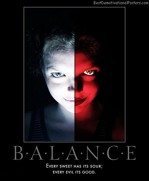 balance-good-evil-sweet-sour-best-demotivational-posters