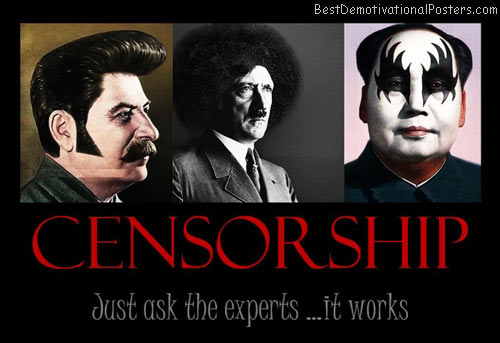Censorship… It Works