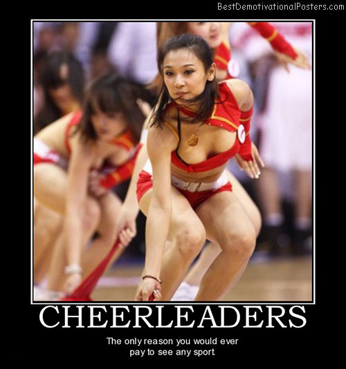 Cheerleaders and Sports