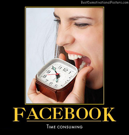 Facebook: Time Consuming