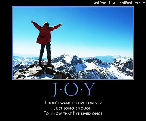 joy-live-life-forever-best-demotivational-posters