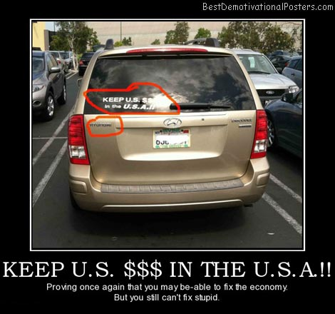 Keep U.S. $$$ In The U.S.A.