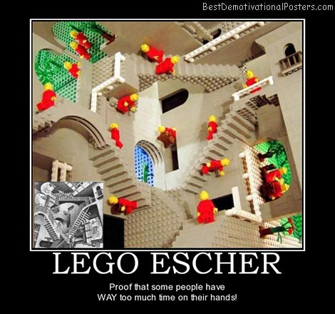 lego-escher-best-demotivational-posters