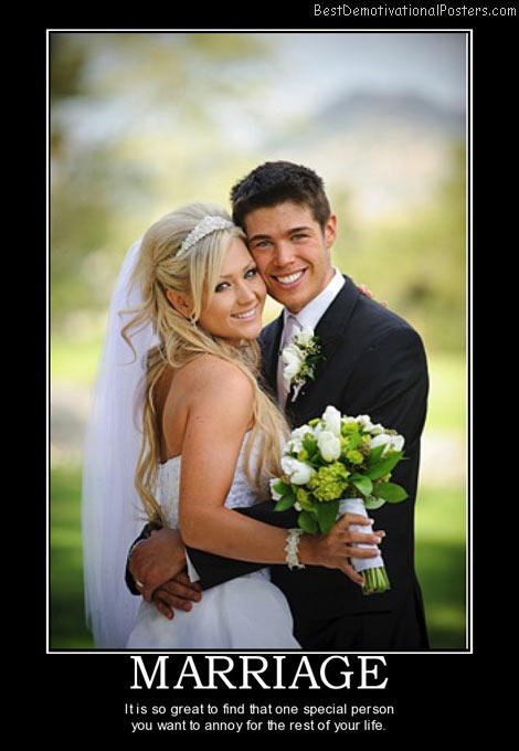 Bride Demotivational Posters & Images