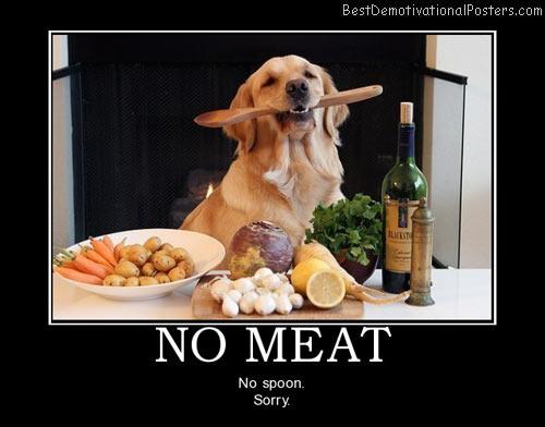 No Meat, No Spoon