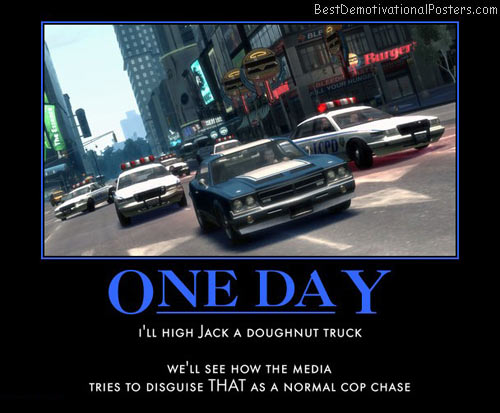 one-day-cops-chasing-doghnut-truck-car-best-demotivational-posters