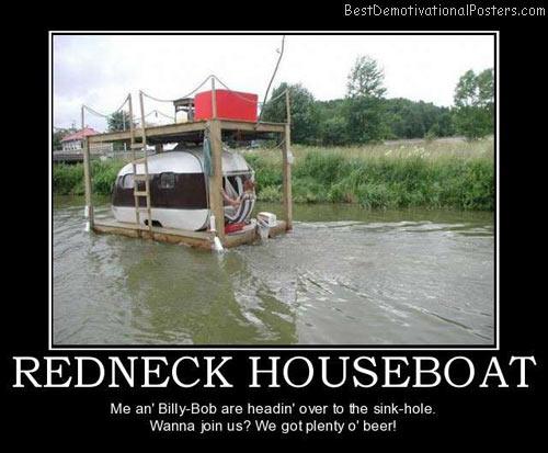 redneck-houseboat-best-demotivational-posters