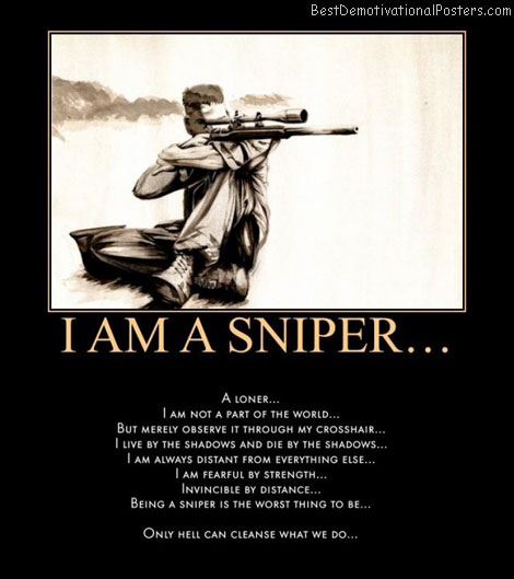 Funny Sniper Quotes on Gangster Love Poems 18