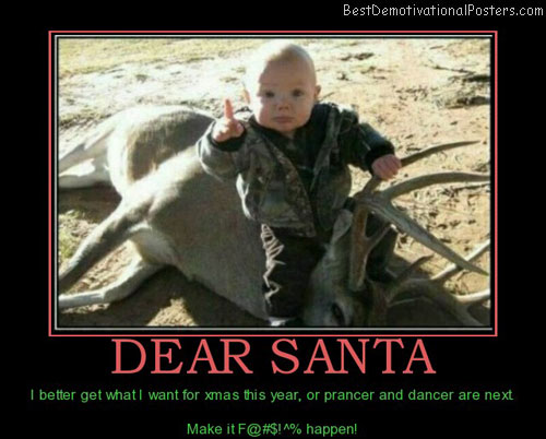 dear-santa-kids-scary-best-demotivational-posters