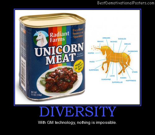 diversity-unicorn-meat-gm-technology-best-demotivational-posters