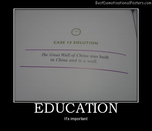 education-china-school-homework-best-demotivational-posters