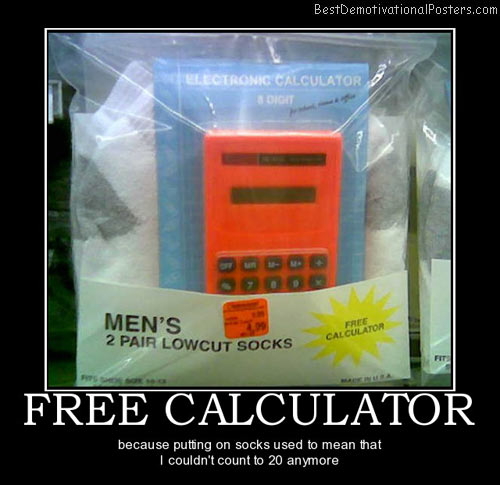 free-calculator-socks-best-demotivational-posters