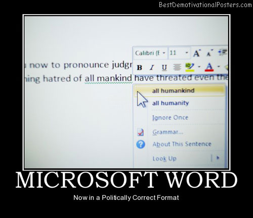 microsoft-word-politically-correct-format-best-demotivational-posters