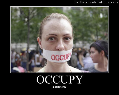 occupy-woman-kitchen-protest-best-demotivational-posters