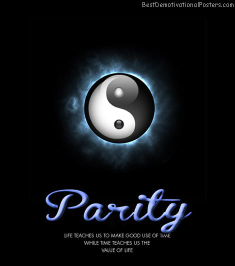Parity – Life And Time