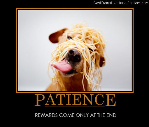 patience-rewards-best-demotivational-posters