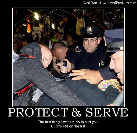 protect-serve-police-pepper-spray-best-demotivational-posters