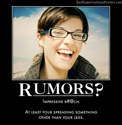 Rumors Or ?