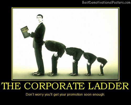 the-corporate-ladder-best-demotivational-posters