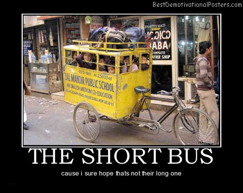 short-school-bus-best-demotivational-posters