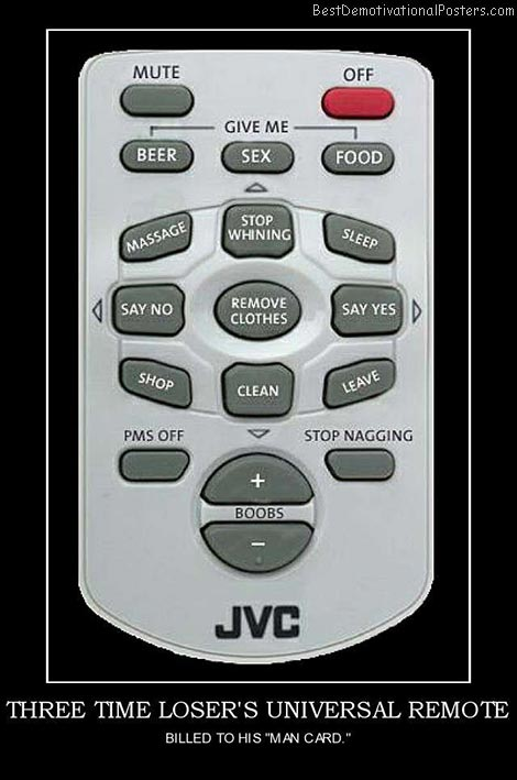 Three Time Loser's Universal Remote