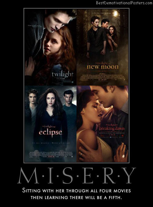 The Misery Of Twilight