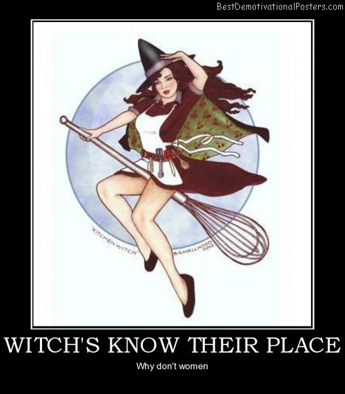Witch's Know Their Place