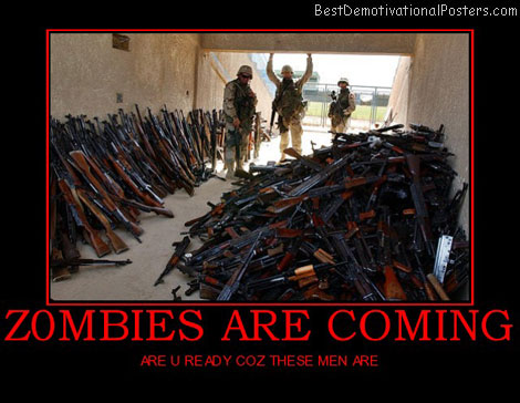 zombies-are-coming-best-demotivational-posters