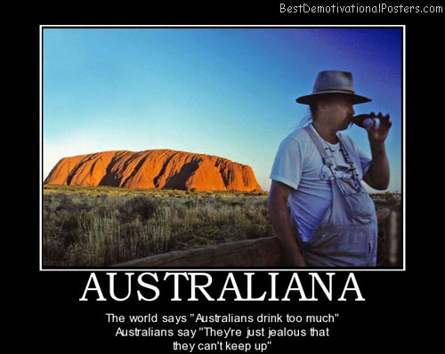 australian-man-drinking-beer-posters