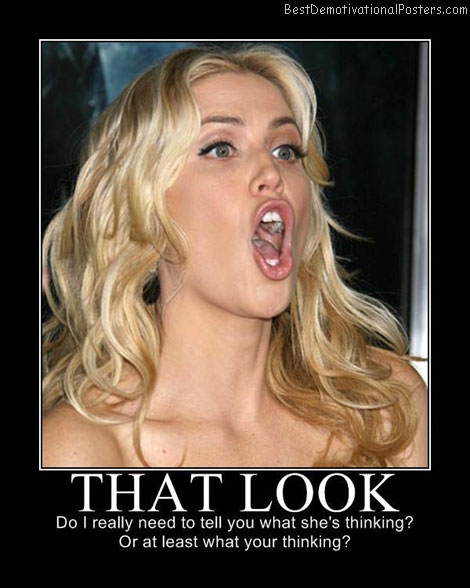 blonde look best-demotivational-posters