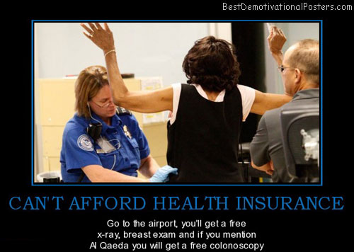 Can't Afford Health Insurance