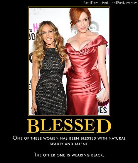 christina-hendricks-blessed-best-demotivational-posters