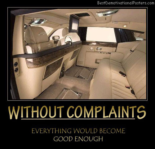 Without Complaints