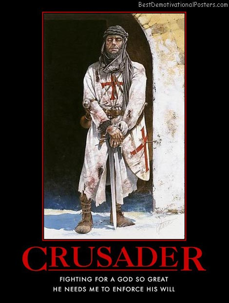 crusader-god-religion-fighting-best-demotivational-posters