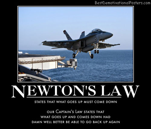 f18-takeoff-newton-law-best-demotivational-posters