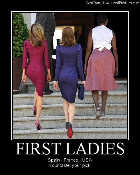 first ladies best-demotivational-posters