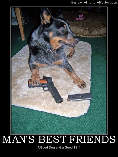 mans-best-friends-dog-1911-best-demotivational-posters