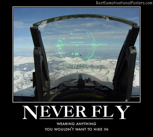 Never Fly With