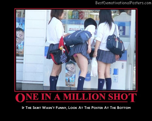 one in a million shot best-demotivational-posters