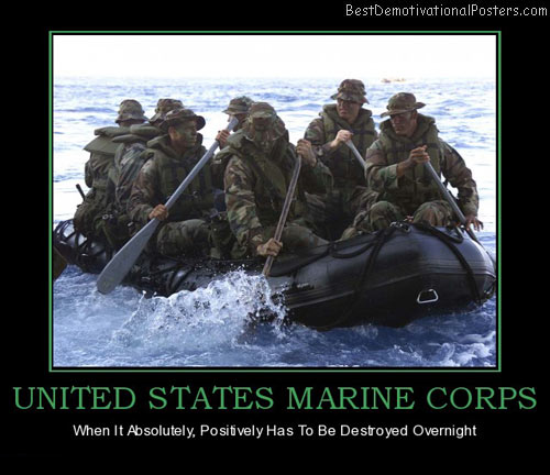 Marines Demotivational Posters & Images