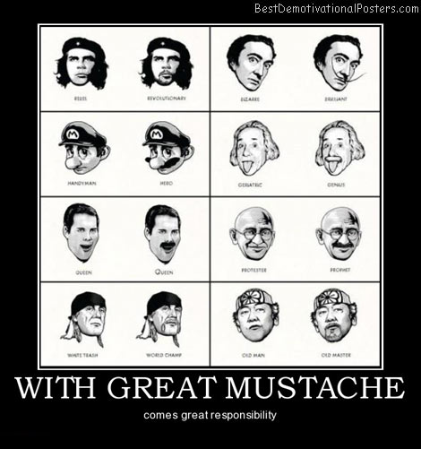 With Great Mustache