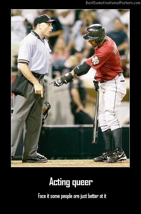 baseball demotivational poster